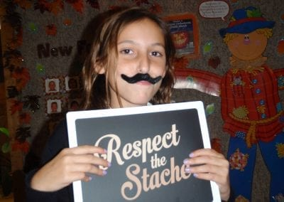 patient with respect the stache 2