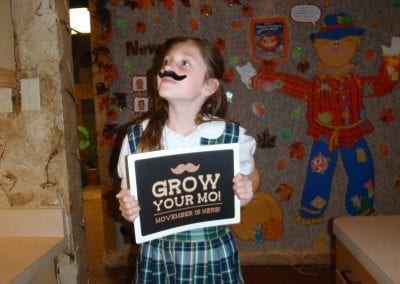 young girl grow your mo