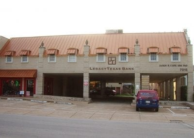 Front of Cope Ortho Building