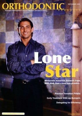 Jason on cover of magazine